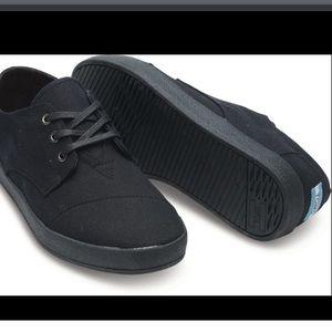 Men's Toms Paseos Sneaker Black NWT